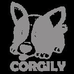 Logo Corgily Grijs