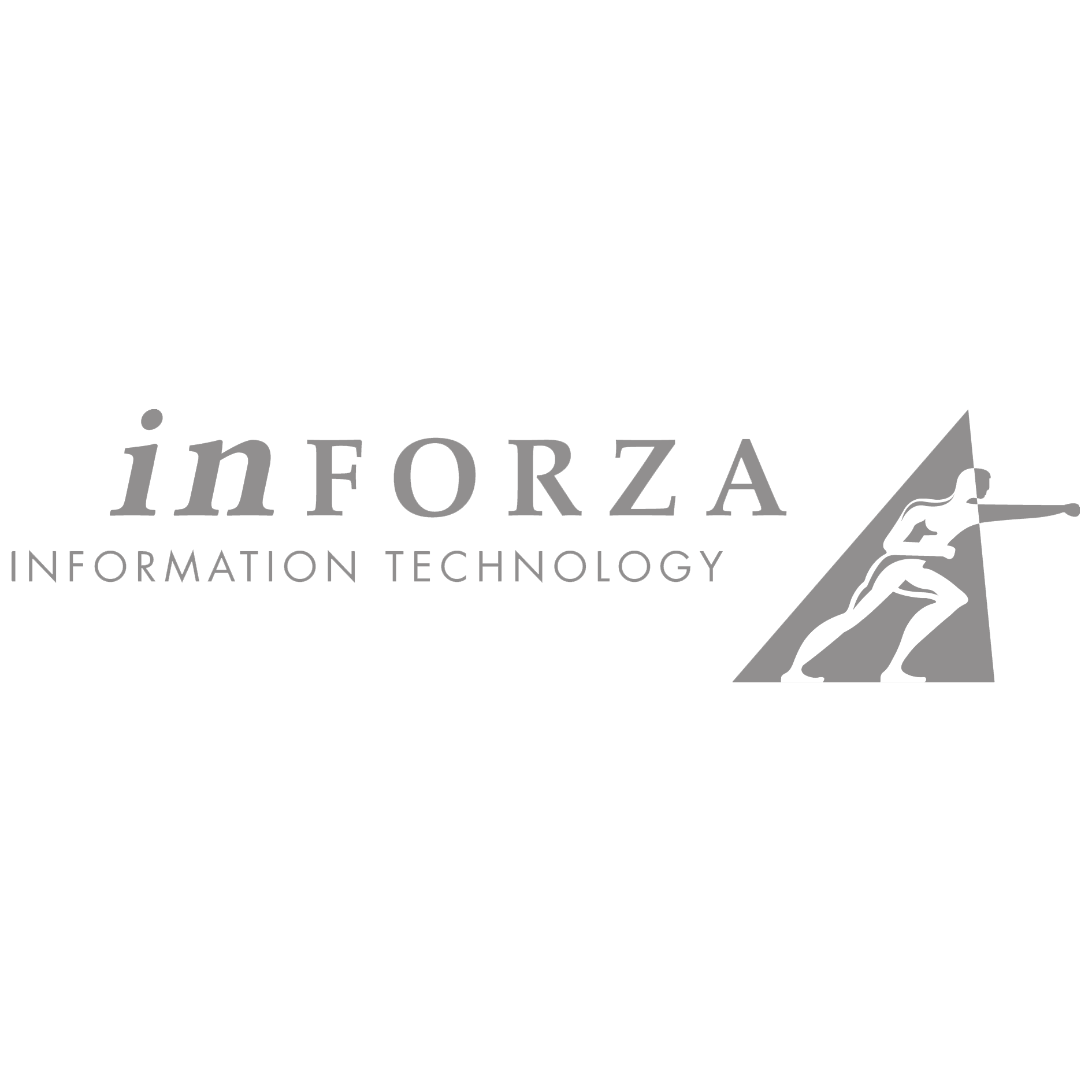 Logo Inforza Grijs